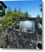Abandoned Vehicles - Veicoli Abbandonati  2 Metal Print