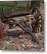 Abandoned Wagon Metal Print by Tom Mc Nemar