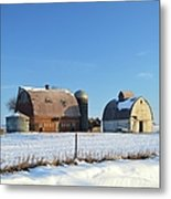 Abandoned Winter Metal Print