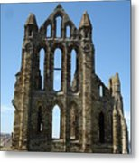 Abbey At Whitby  Metal Print