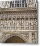 Abbey Facade Metal Print
