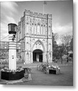 Abbey Gate Metal Print