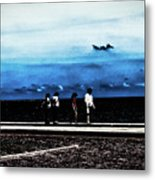 Abby Road By The Bay Metal Print