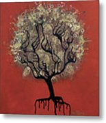 Abc Tree Metal Print