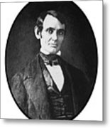 Abe Lincoln As A Young Man  Metal Print