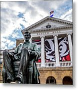 Abe On Bascom Hill Metal Print