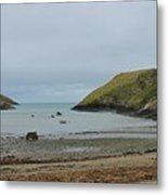 Abercastle Harbor 2 Wales Metal Print