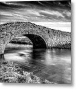 Aberffraw Bridge V2 Metal Print