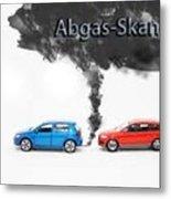 Abgas Skandals Metal Print