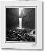 Abiqua Falls Amphitheater  Metal Print