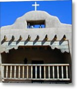 Abiquiu Church Number 2 Metal Print by Joseph R Luciano