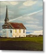Abondoned Church Metal Print