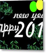 About New Year Metal Print