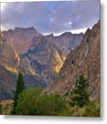 About The Light Metal Print