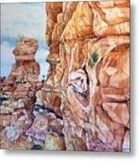 Above Canyonlands Campground Metal Print