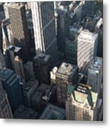 Above Chicago 2 Metal Print