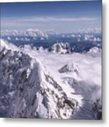 Above Denali Metal Print