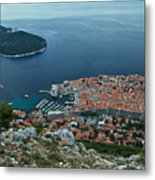 Above Dubrovnik - Croatia Metal Print