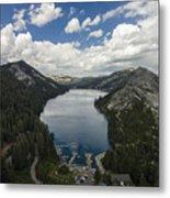 Above Echo Lake Metal Print