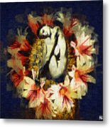 Above Flowers And Thorns II Metal Print