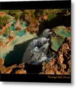 Above Havasupai Falls Arizona Metal Print