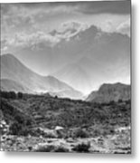 Above Muktinath, Nepal Metal Print