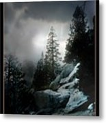 Above Palm Springs Metal Print