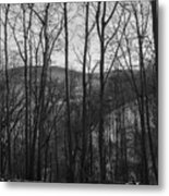Above The Allegheny  Metal Print