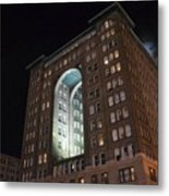 Above The Byham Theater Metal Print