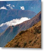 Above The Clouds In The Andes Metal Print