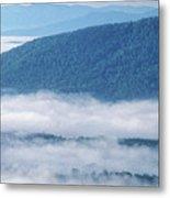 Above The Clouds Panoramic Metal Print