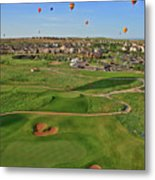 Above The Course Metal Print