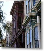 Above The Streets Metal Print