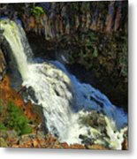 Above Undine Falls Metal Print