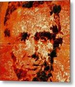 Abraham Lincoln 4d Metal Print