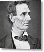 Abraham Lincoln Metal Print