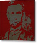 Abraham Lincoln The American President  Metal Print