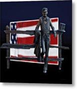 Abraham Lincoln Metal Print by Thomas Woolworth