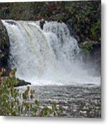 Abrams Falls Cades Cove Tn Metal Print
