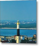 Absecon Lighthouse Atlantic City Metal Print by Bill Cannon