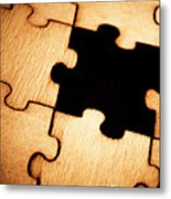 Absence In Completion Metal Print