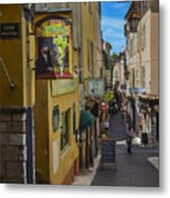 Absinthe In Antibes Metal Print