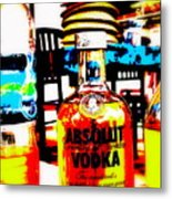 Absolut Gasoline Refills For Bali Bikes Metal Print by Funkpix Photo Hunter