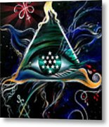 Absolute - Creator Of The Universe  Metal Print