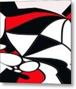 Abstrac7-30-09-b Metal Print