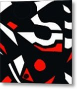 Abstrac7-30-09 Metal Print