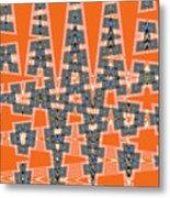 Abstract # 2060ew4a Metal Print