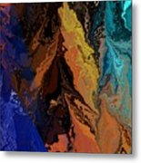 Abstract 010811 Metal Print