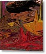 Abstract 011311 Metal Print