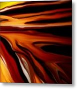 Abstract 02-12-10 Metal Print